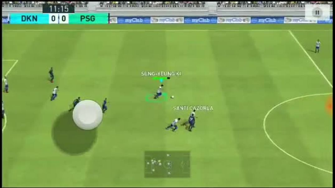 PES 18 mobile gameplay