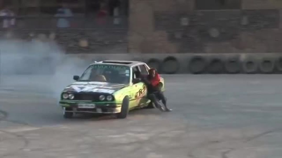 Nigerian Car Drift Event At Abuja