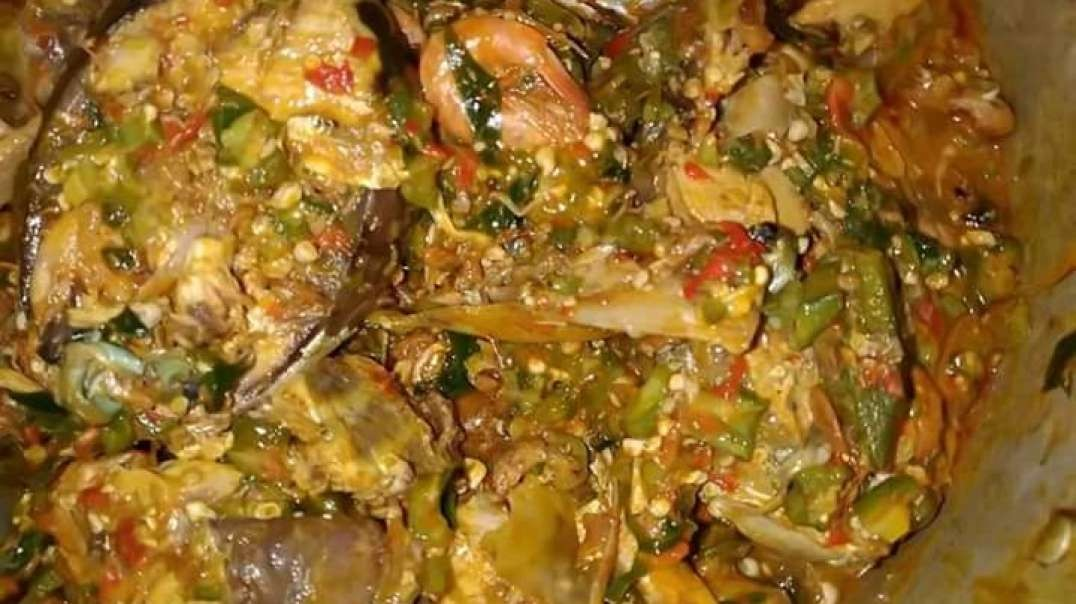 How to prepare delicious okra soup