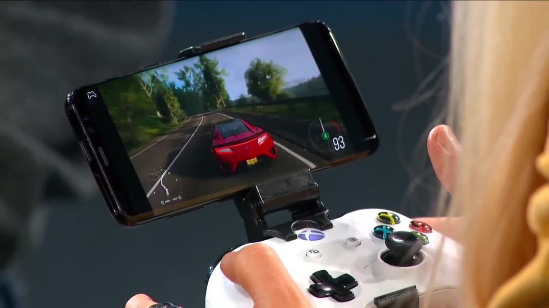 Xbox one on android via the Xcloud project