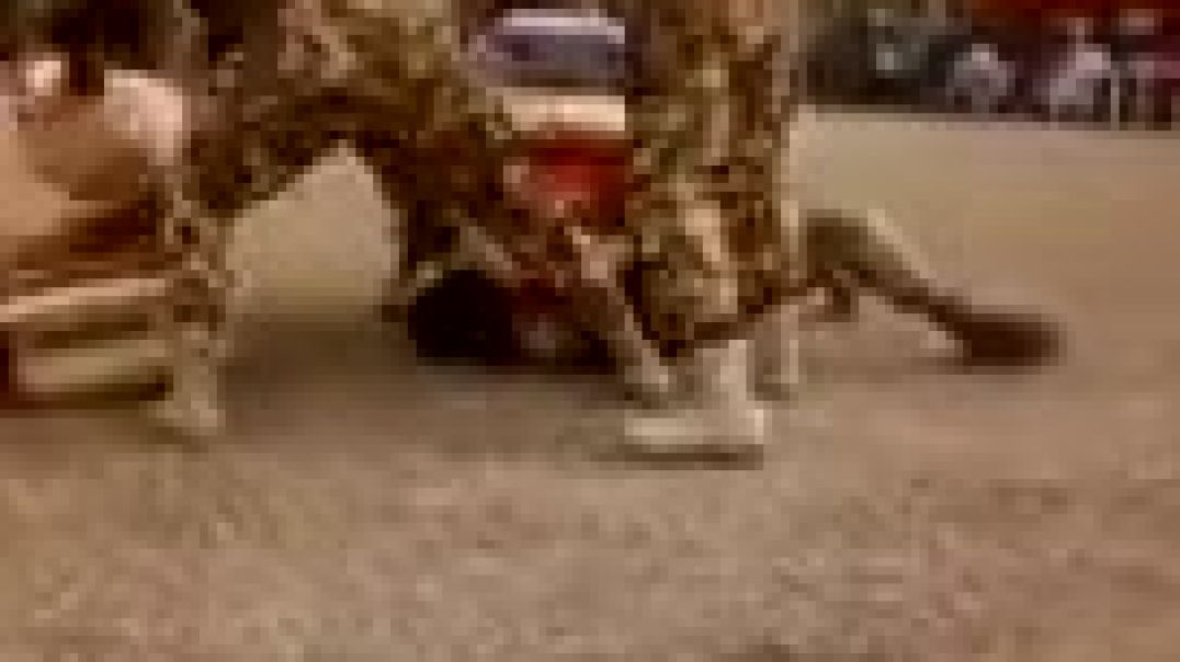 THE NIGERIAN ARMY HEAVY WEIGHT CHAMPION IN BAUCHI STATE (Xplicit Comedy) Map tv