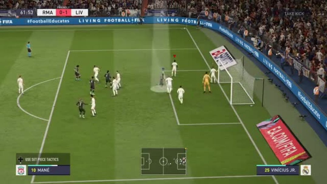 How to Score Directly from a corner on FIFA 20.