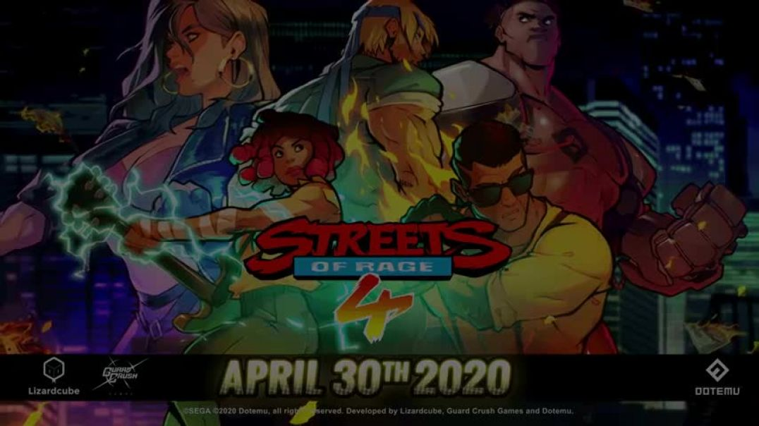 Streets of Rage 4. Battle Mode and Release Date,PlayStation 4