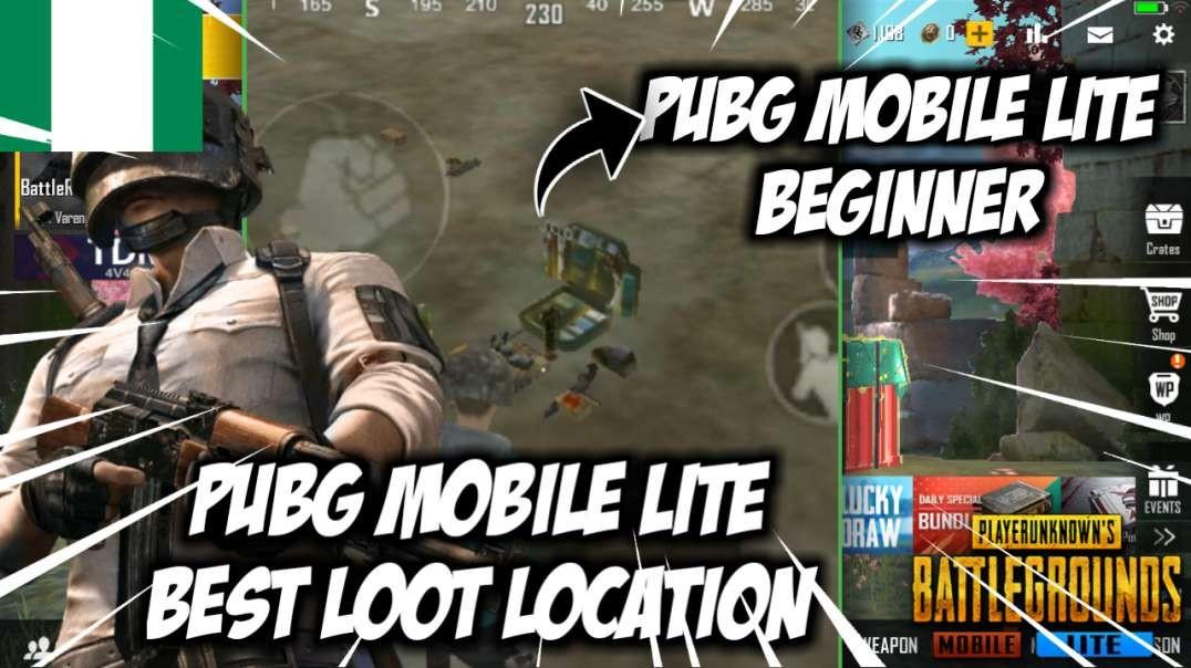 Pubg Mobile Lite Best Loot Location for Beginners | Tejiri Jude