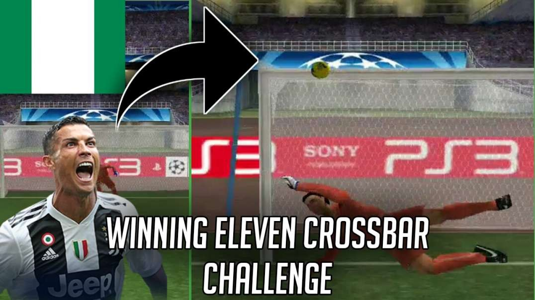 Winning Eleven Cross Bar Challenge | Tejiri Jude