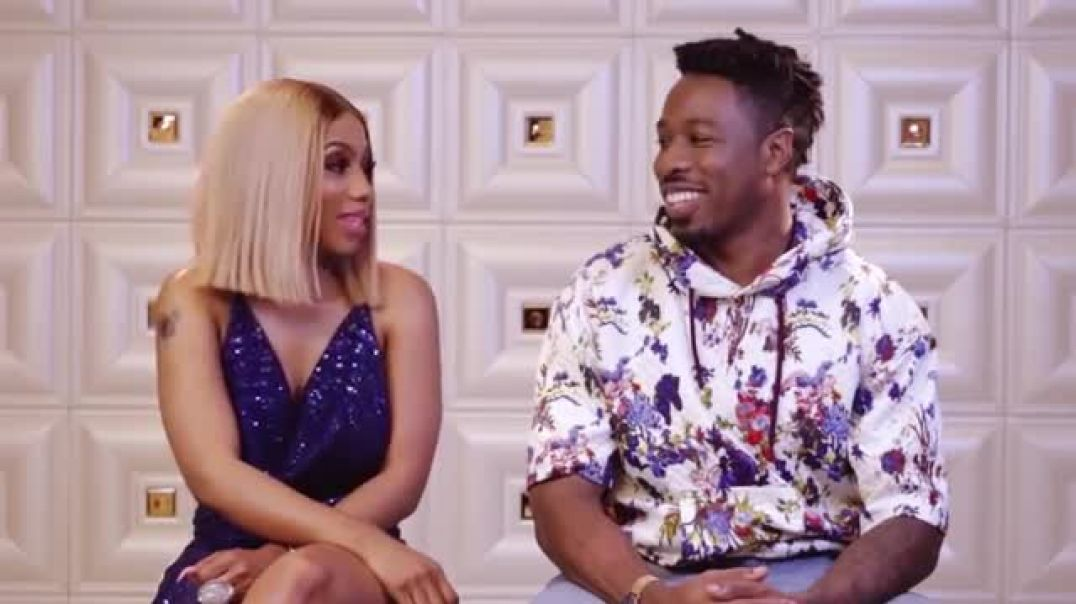 Mercy and Ike of big brother, reality Tv show on Africa Magic