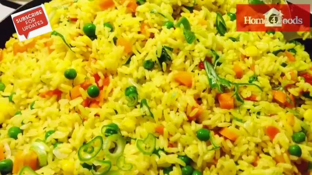 How To Make Nigerian Fried Rice Easy Fried Rice Recipe
