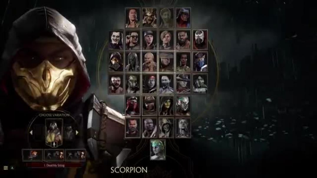 Mortal Kombat 11 Aftermath Competition Center Character Breakdown: Scorpion PS4
