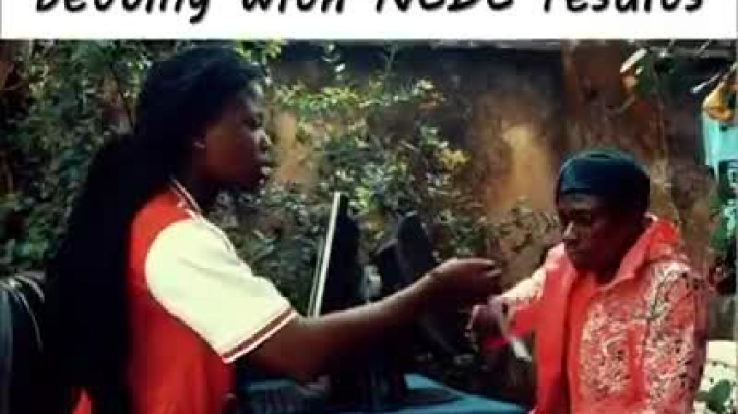 When Nigerians start betting with NCDC results (comedy)