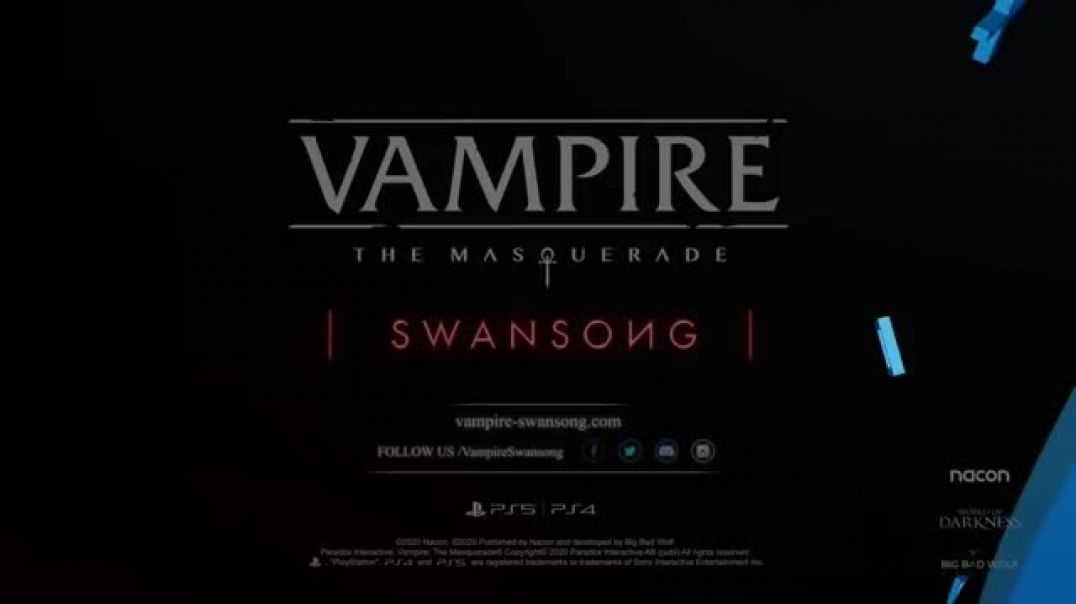 Vampire: The Masquerade Swansong, The Invitation PS5, PS4(360p)