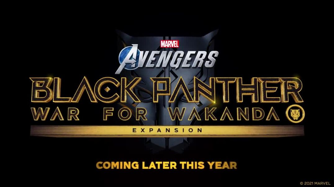 Marvel's Avengers - Official Black Panther Reveal Trailer _ Square Enix Presents 2021