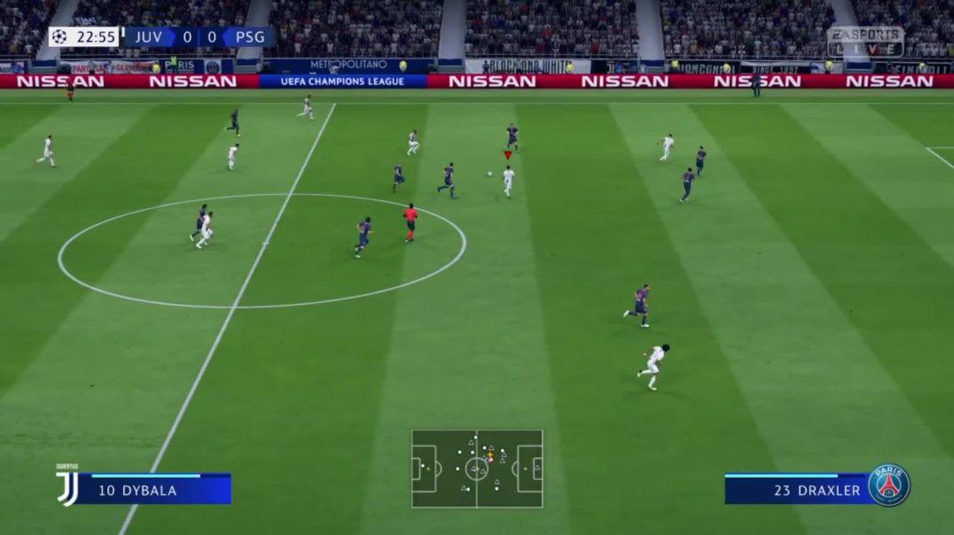 FIFA19: JUV 3 : 1 PSG