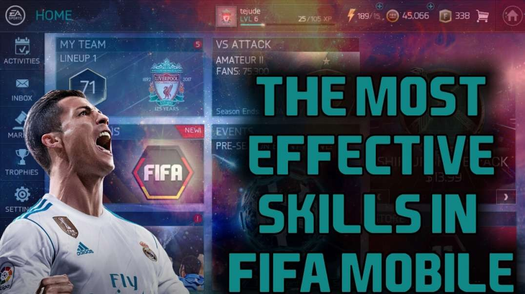 The most effective skill move in FIFA Mobile