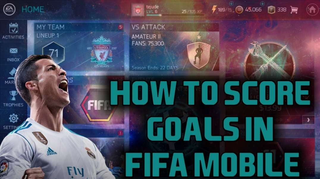 How to score goals!!! in FIFA Mobile