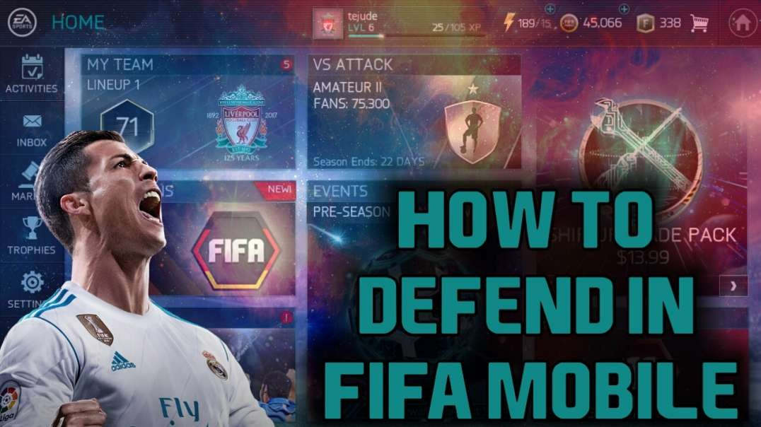 How to defend in FIFA Mobile