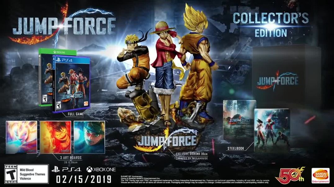 Jump Force - Official Story Trailer
