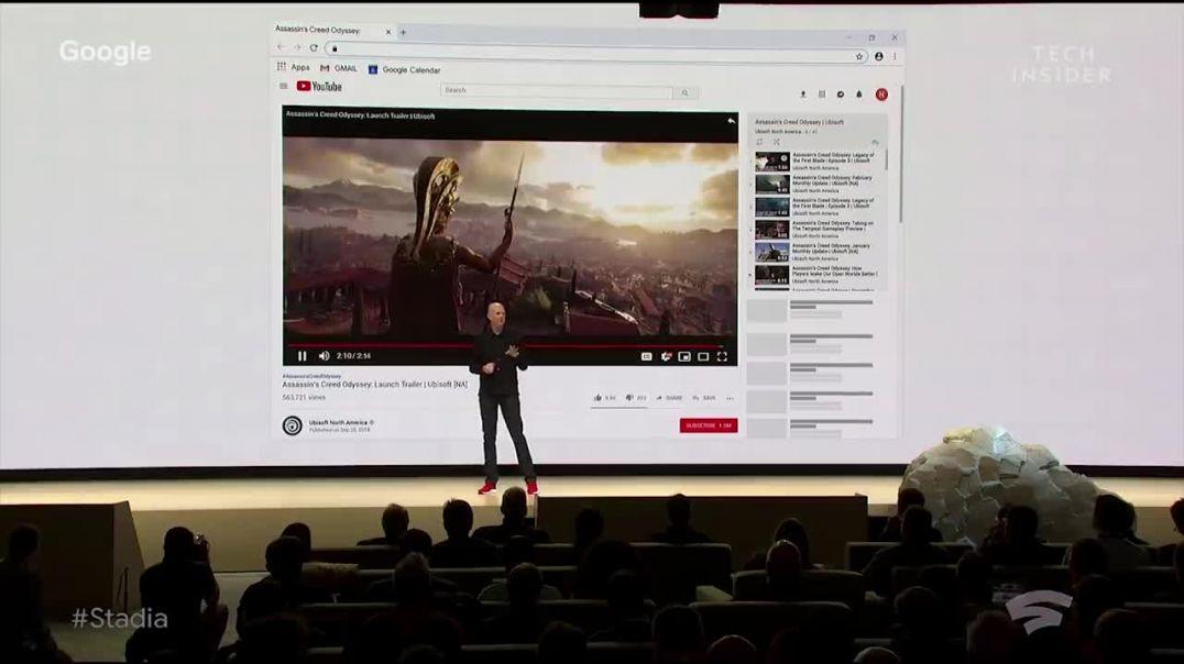 Google's Stadia Event
