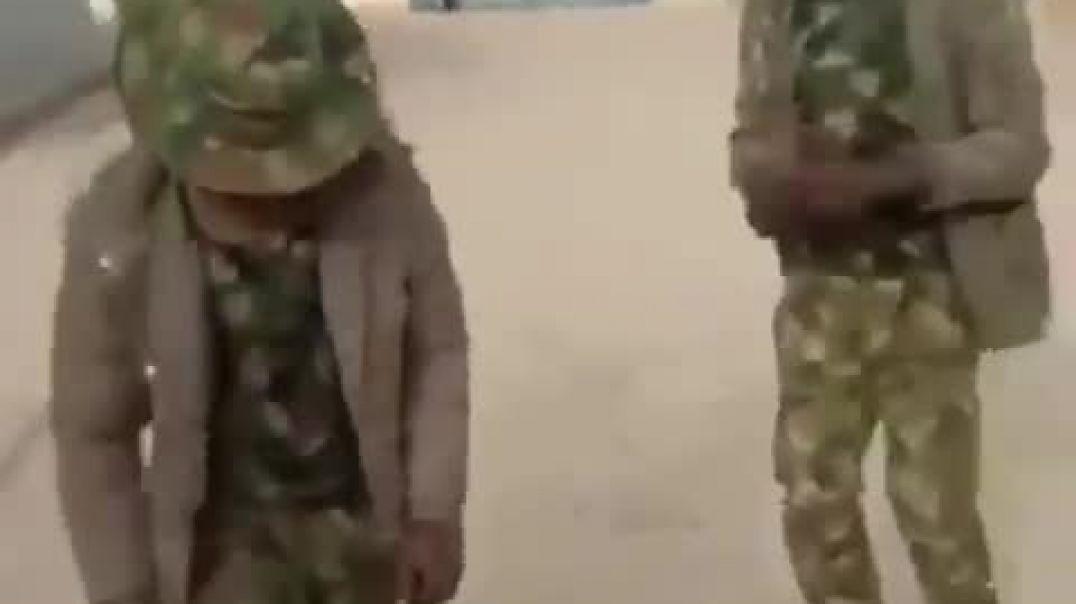 Nigeria soldier's doing the Zanku