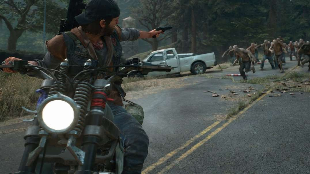 Days Gone PS4 GamePlay