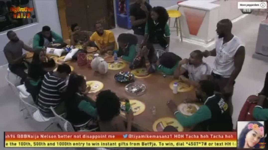 Day1 : Squabbles over Coins and Food | Pepper Dem: Big Brother 2019
