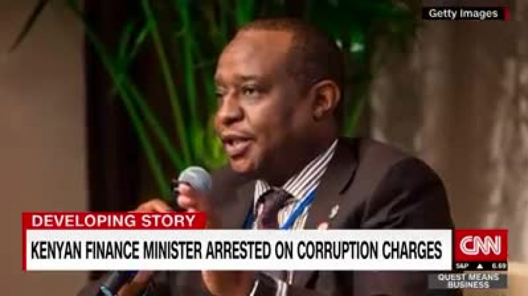 Kenya Finance minister arrested