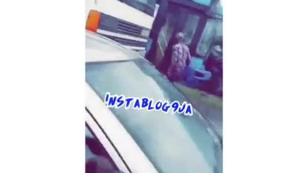 Head-on collision between two #BRT buses, #Ikorodu, Lagos