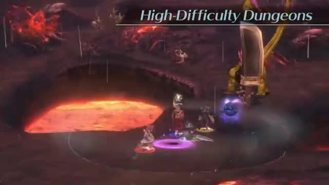 Final Fantasy Crystal Chronicles Remastered Edition New Features Trailer PS4